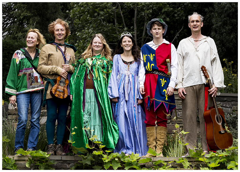 Cinders: A Folk Tale Cast Group Production Photo